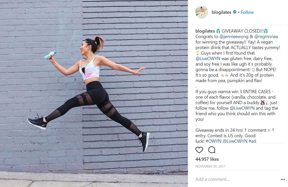 instagram fitness models : cassey ho