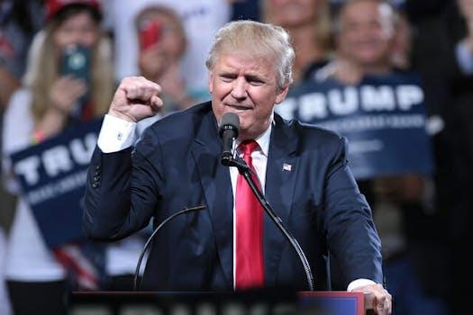 Donald Trump Syria mission accomplished