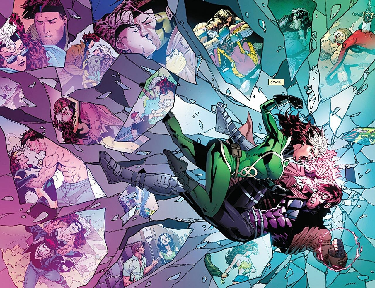 best new comics 2018 : rogue and gambit
