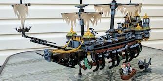 silent mary lego ship