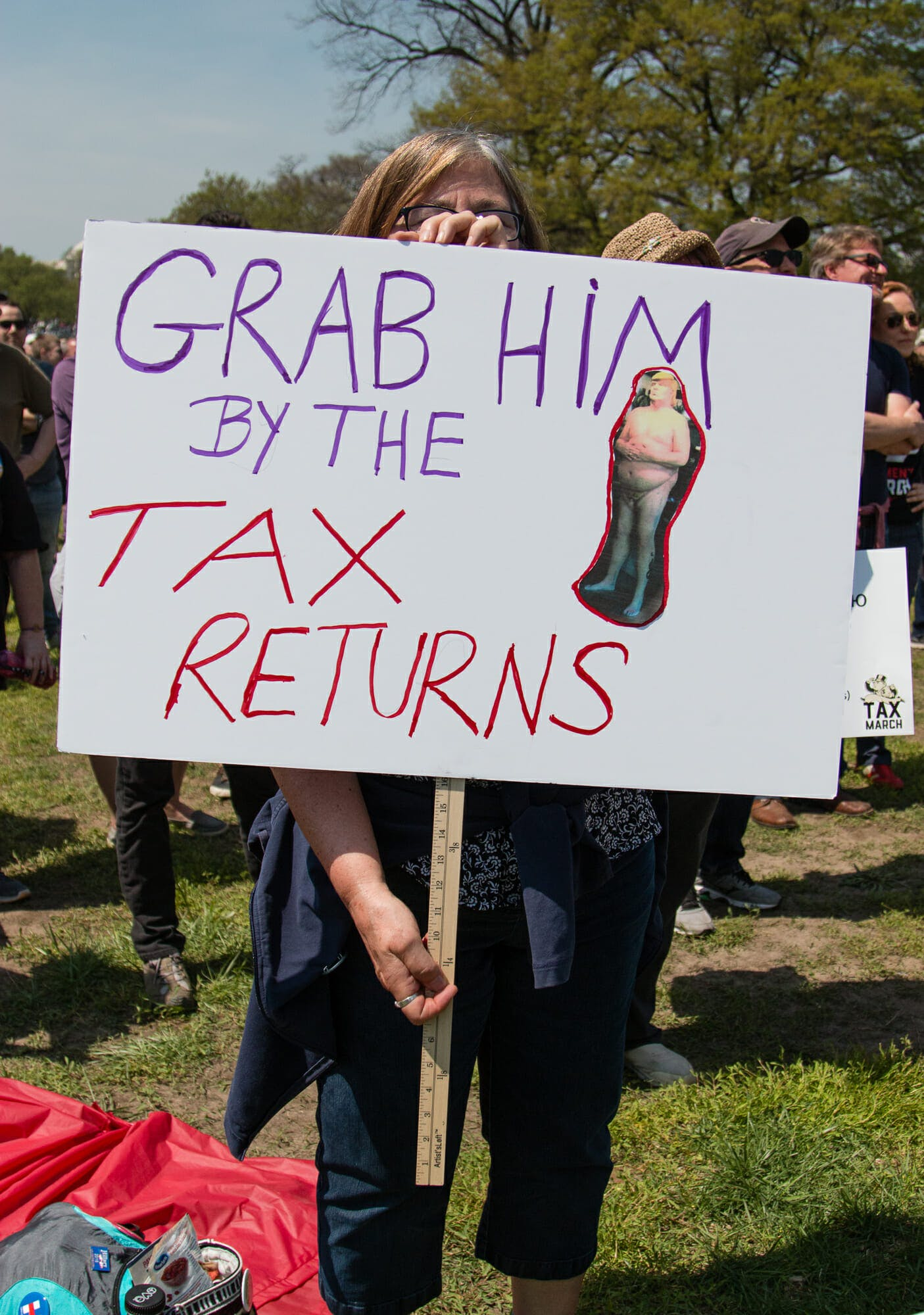 Tax Day protest