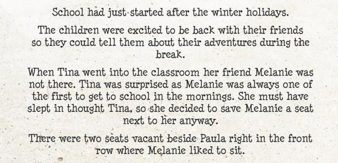 An excerpt.