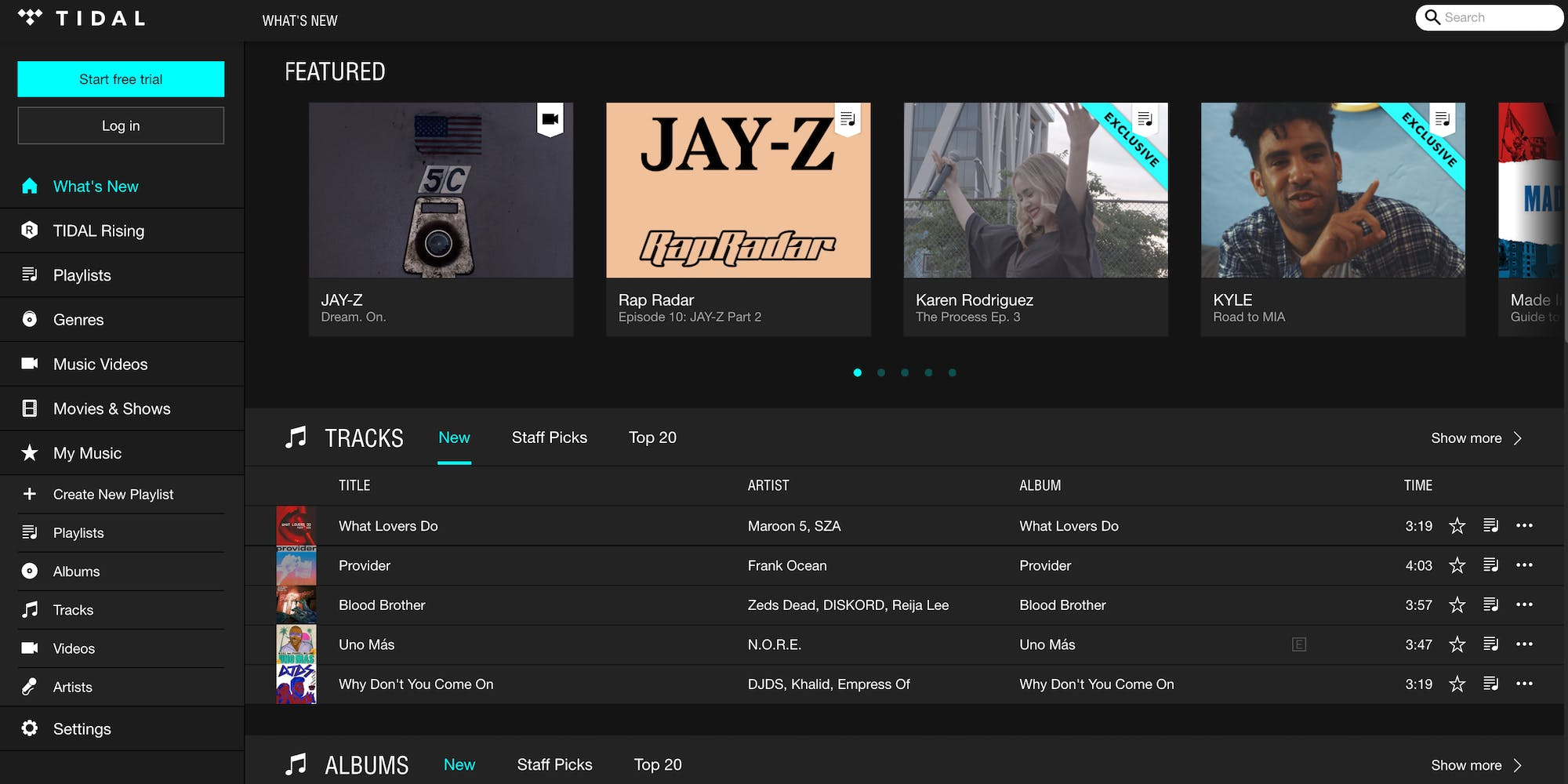 music streaming : Spotify vs Pandora: Spotify vsTidal