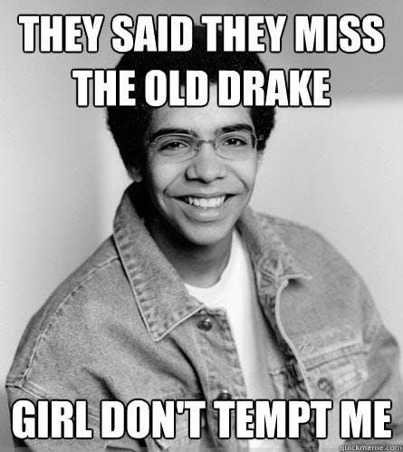 best drake memes: the old drake
