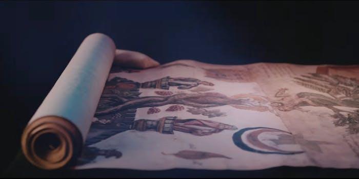 harry potter scroll