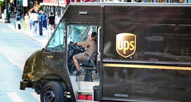 ups driver strike holiday