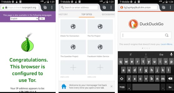 android security app : Orfox