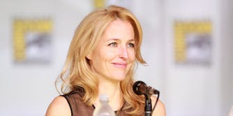 gillian anderson is leaving the x-files