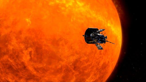 nasa parker space probe sun mission