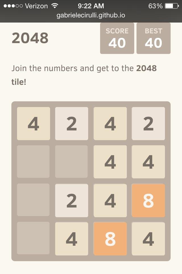 2048 strategies