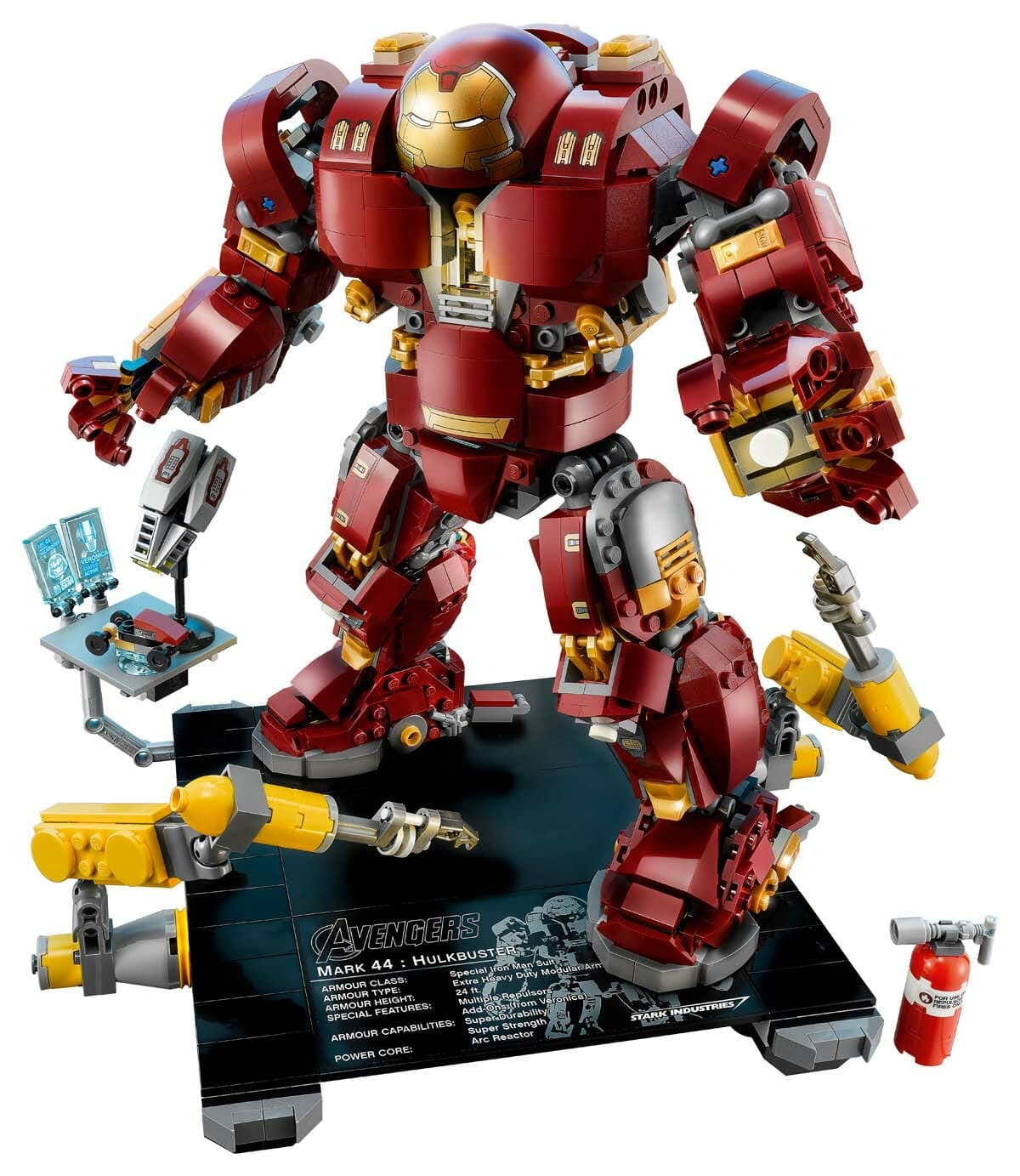 marvel lego sets : Hulkbuster Ultron Edition