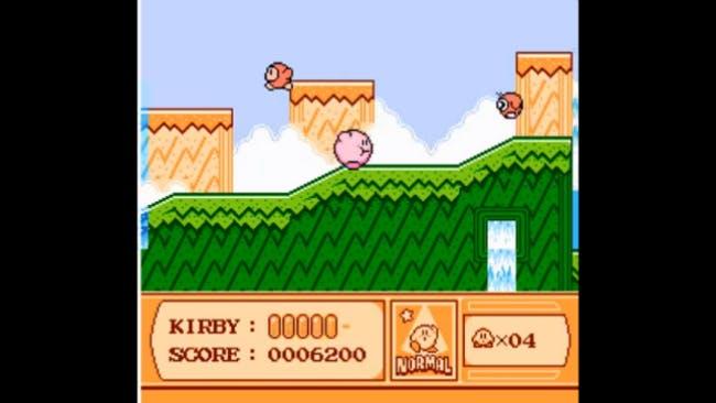 nes games: Kirby's Adventure