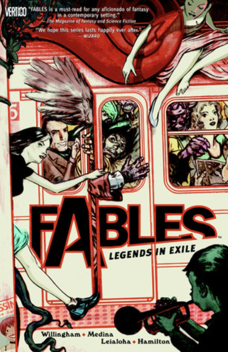 comic books for adults : fables