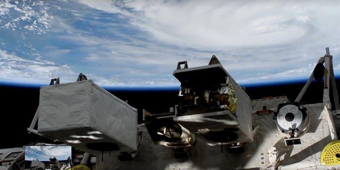 hurricane harvey space