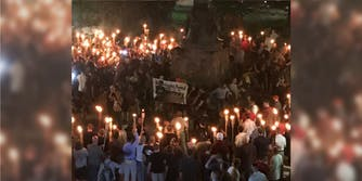 White supremacists rally at the University of Virginia