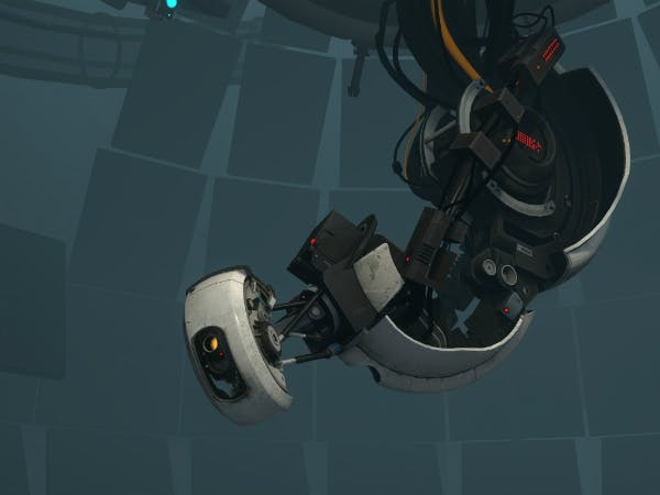 This is GLaDOS. You do not want to be locked in a room with her.