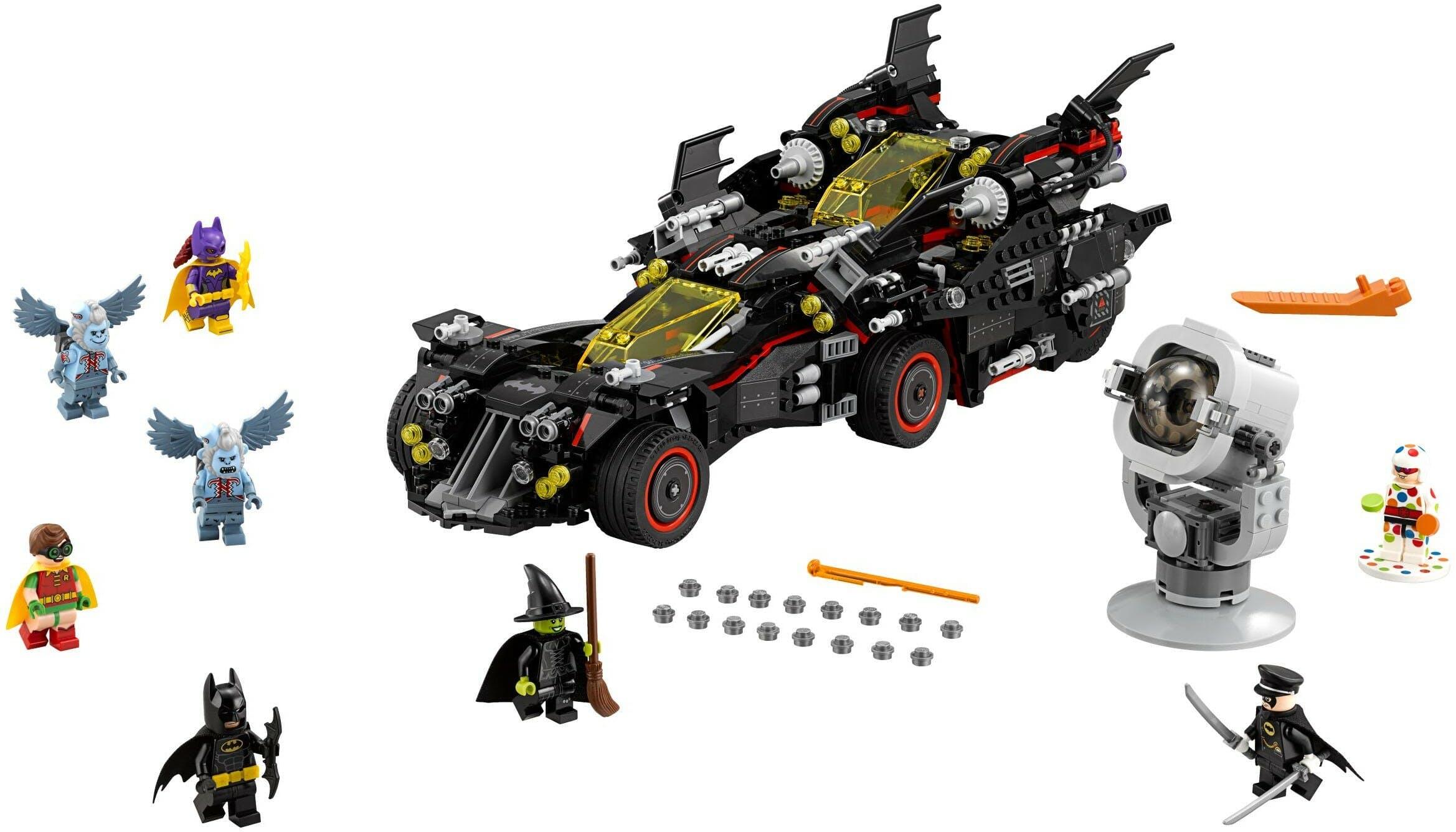 best lego sets 2017 : Ultimate Batmobile