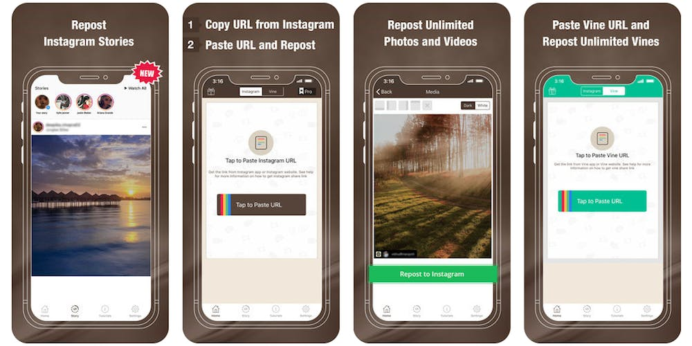 how to Save Instagram videos with Repostly