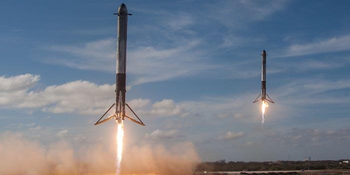 Falcon 9 Heavy demo mission