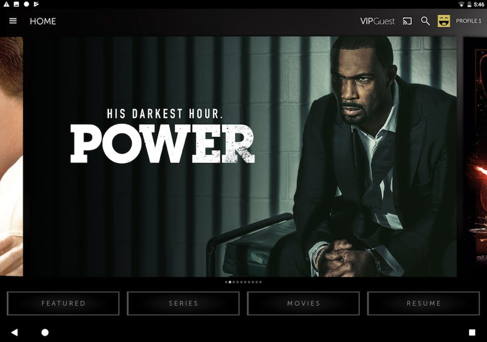 movies apps for android : Starz