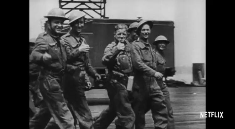 military movies on netflix : five came back