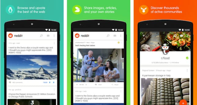 best iphone apps: Reddit app