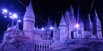 hogwarts castle leavesden