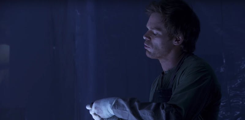 tv shows about serial killers : Dexter