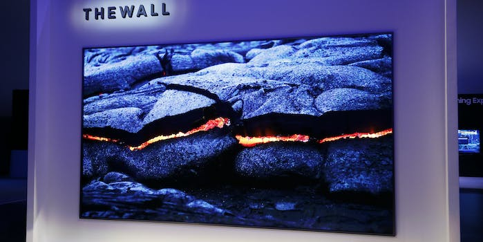 Samsung's 146-inch 'The Wall' Display Is a Gorgeous Gimmick