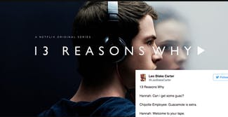 13 reasons why meme: cover photo of 13 reasons why