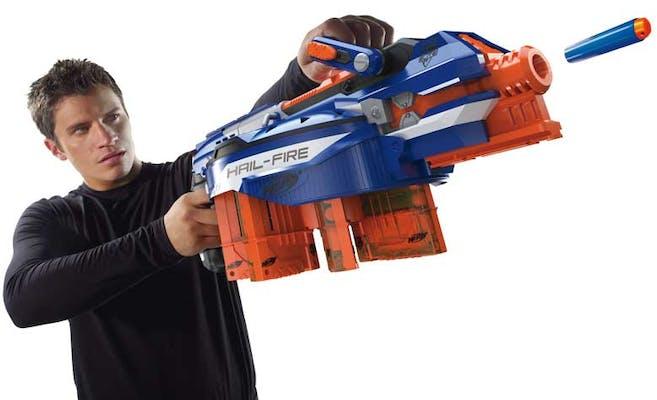 Coolest nerf guns: Nerf N-Strike Elite Hail-Fire Blaster