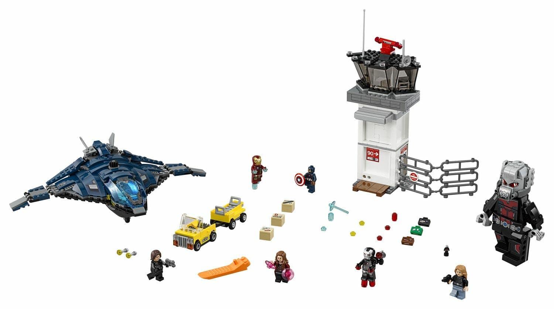 marvel lego sets : Super Hero Airport Battle