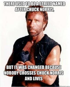 Chuck Norris Street