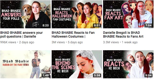 bhad bhabie youtube