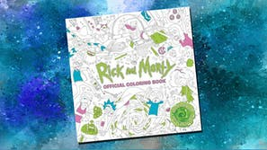 rick and morty coloring