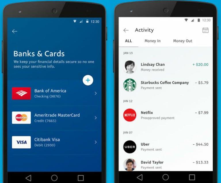 paypal vs venmo vs Google Wallet