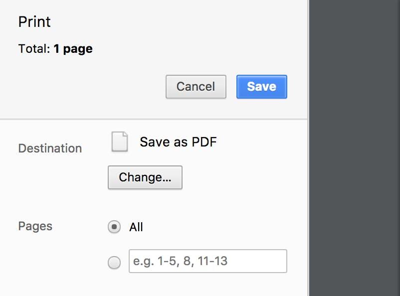 how to edit pdf online : save a webpage as pdf