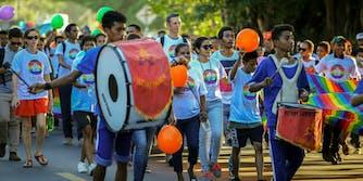 Timor Leste pride march