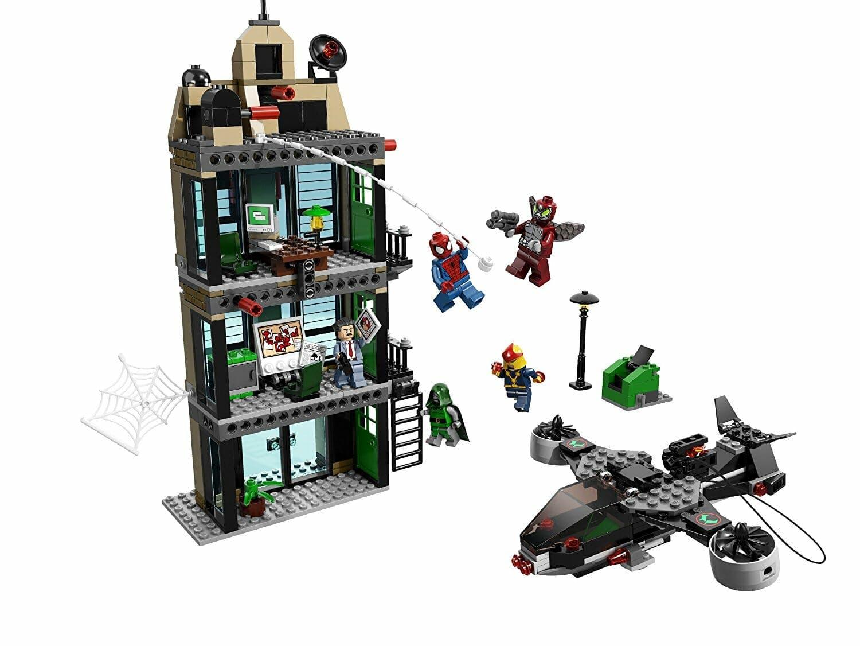 marvel lego sets : Spider-Man Daily Bugle Showdown