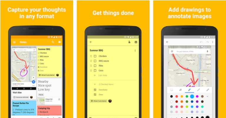 Best Android Apps: Google Keep