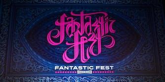 Fantastic Fest calligraphic logo