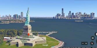 google earth new york city