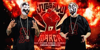 Violent J and Shaggy 2 Dope promote the Juggalo March