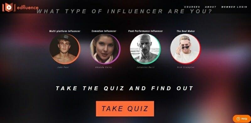 Edfluence quiz