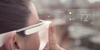 what is augmented reality: an example of google glass