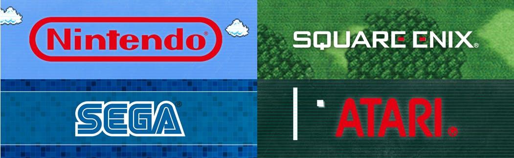 game companies featured in retro zone