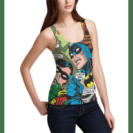 Geek fashion tank top