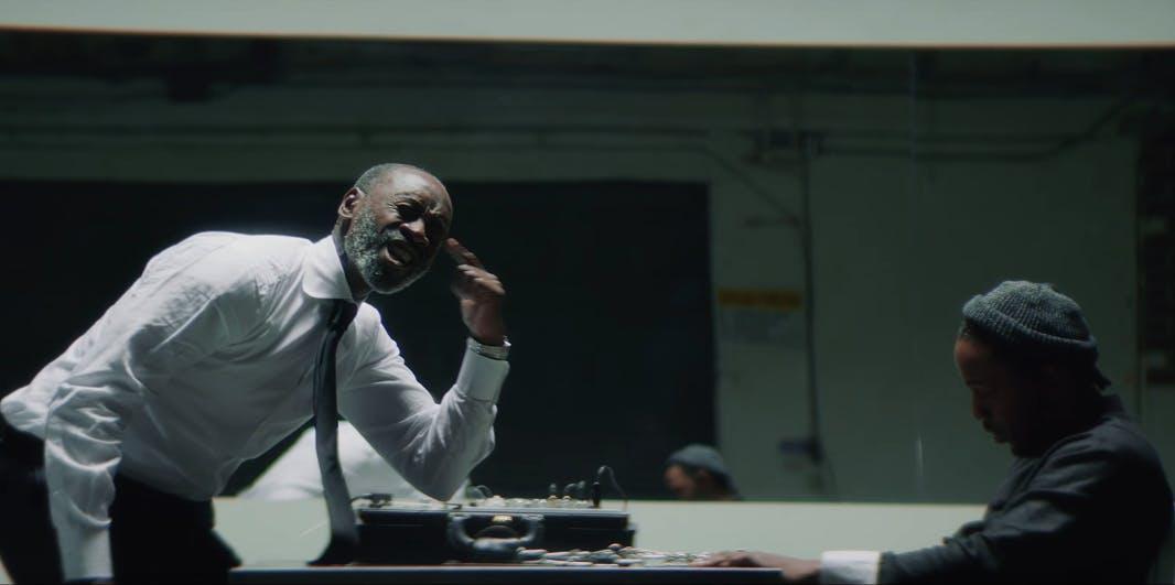 Don Cheadle in Kendrick Lamar video