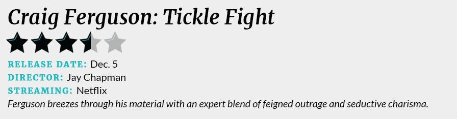 Craig Ferguson: Tickle Fight review box