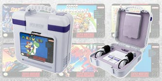 snes classic carrying case